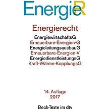 Energierecht (dtv Beck Texte)