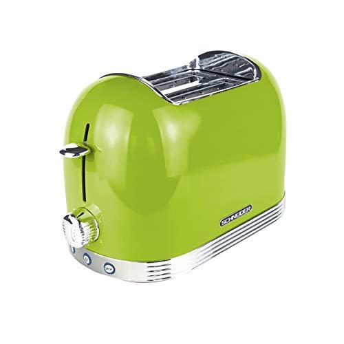 Schneider Toaster SL T2.2 LG, grün/Chrom