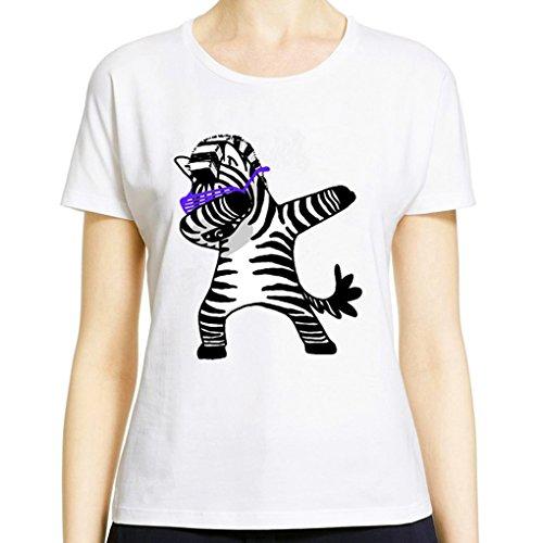 T Shirt Unicorno Donna Felpe Animali Stampa Tumblr Pullover Girocollo Camicetta Casual Sportive Blusa Tops Estivi Bianchi Moda Maglietta Manica Corta Sweatshirt Ragazza Color 07