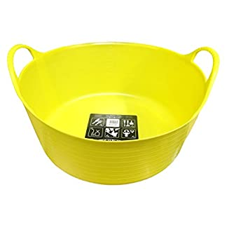 Tubtrugs SP15YF Flexible Yellow Small Shallow 15 Liter/4 Gallon Capacity Tubtrugs SP15YF Flexible Yellow Small Shallow 15 Liter/4 Gallon Capacity 41sWIqKmoWL