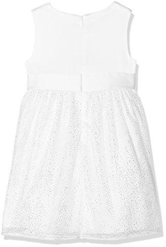 s.Oliver Baby-Mädchen Kleid 59.802.82.2769, Weiß (White 0100), 80 - 2