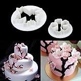 Generic 2x Sakura Fondant Cake Decoratin...