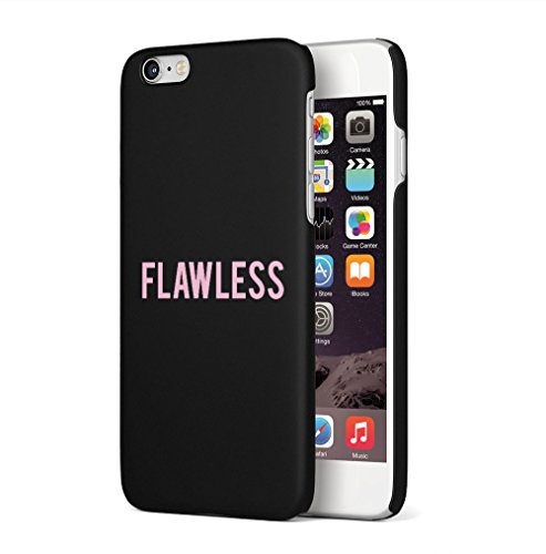 Pink Flawless Apple iPhone 6 / iPhone 6S SnapOn Hard Plastic Phone Protective Custodia Case Cover Flawless