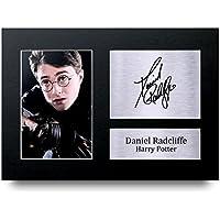 Daniel Radcliffe Signed A4autographe Harry Potter Print Photo Image écran–Idée cadeau