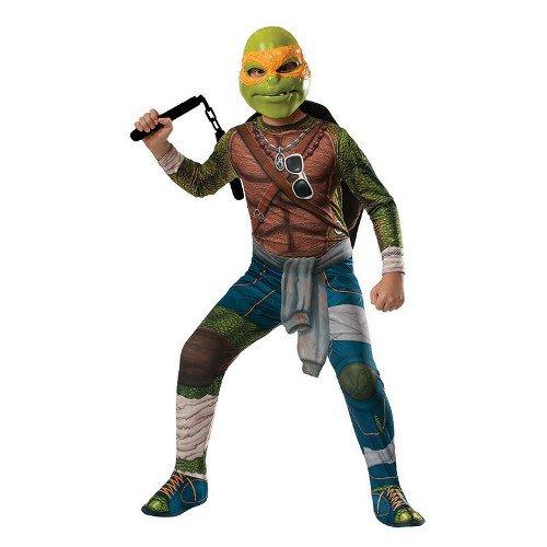 Generique - Ninja Turtles Michelangelo Lizenzkostüm für Kinder bunt