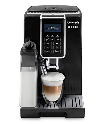 De'longhi Dinamica Ecam350.55.B - Cafetera superautomática, 1450w, función cappuccino, personalización variedad de...