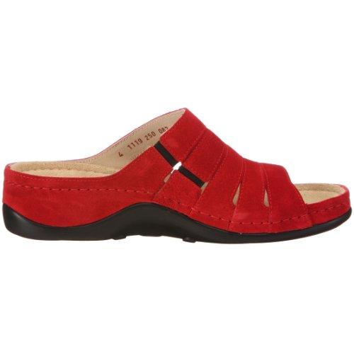Berkemann Bine Damen Pantoletten Rot (Rot)