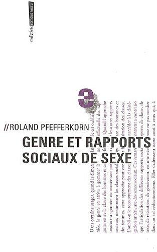 Genre et rapports sociaux de sexe