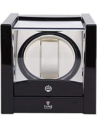 Time Tutelary Automatic Single Watch Winder - KA079 (BLACK)