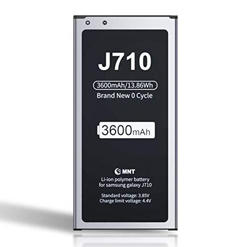 ZMNT - Batería para Samsung Galaxy J7 3600 mAh