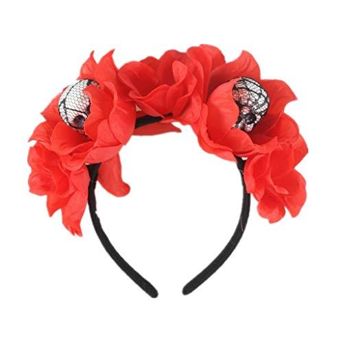 Prom Paar Outfit Ideen - INLLADDY Damen MäDchen Stirnband Kopfschmuck Blume