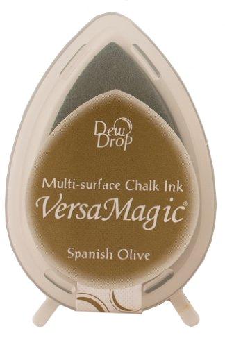 Tsukineko VersaMagic Kreide-Stempelkissen, Mango Madness Spanish Olive -