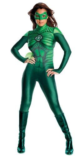 Green Lantern Catsuit Kostüm - grün - XS