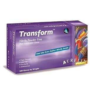 Aurelia Transform Nitrile Glove, Powder Free, 9.5