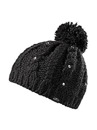 black-canyon-bonnet-en-tricot-pour-femme-avec-perles-scintillantes-et-pompon-taille-unique-noir-noir
