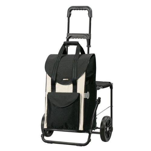Andersen Shopper Komfort und Einkaufstasche Senta weiß 49 Liter