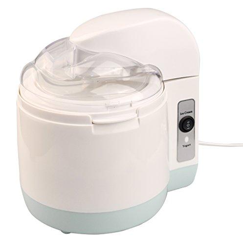 Máquina de yogur helado Webat helado y yogur 2 y 1 máquina, 1.5 / 1.