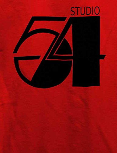 Studio54 Logo T-Shirt Rot