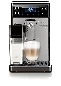 Saeco HD8967/01 GranBaristo Avanti Kaffeevollautomat, Appsteuerung, integrierte Milchkaraffe, silber