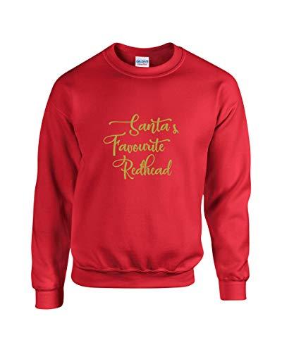 064ef8fda Père Noël préféré de Redhead - Festive Pull de Noël pour Femme Motif