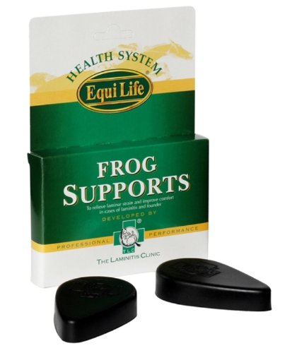 Equilife TLC Horse Frog Supports x Size: Pair 1