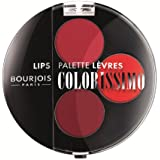 Bourjois - Colorissimo lip palette, paleta de colores de labios, tono rouges collection