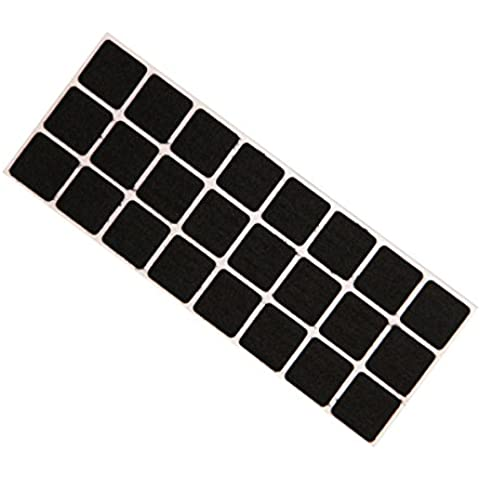 A estrenar grande resistente 24 SQUARE auto-adhesivo del FIELTRO TAB Pads - resistente a arañazos y el protector del piso para su uso en todos los muebles, sofás, sillas, taburetes, mesas, etc