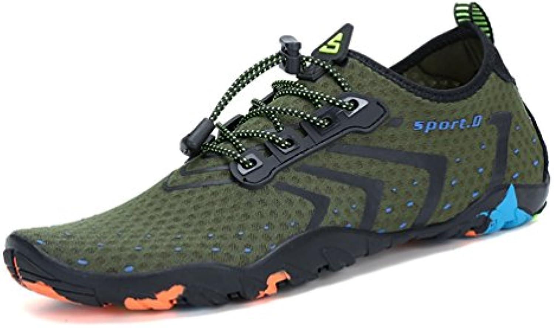 Hombres Transpirable Aqua Zapatos Verano Zapatos Playa Sandalias Pantuflas Adulto Deporte Arriba Zapatos Calcetines