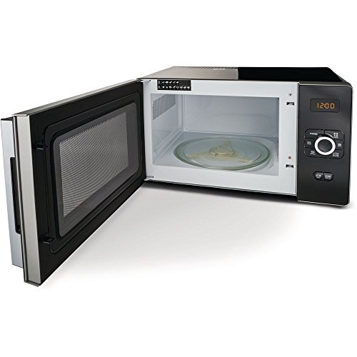 Hotpoint Gusto Microwave with Grill, 25 Litre, Black