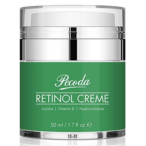 Retinol Feuchtigkeitscreme Creme-2019 Neu-2.5% Retinol Anti falten/aging Lift Creme für gesicht. Natürliche Hautpflege-Behandlung crème für Frauen und Männer. 50ml -