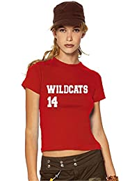 HSM 1/2/3 Wildcats 14 Girlie / women's T-Shirt, Fanshirt