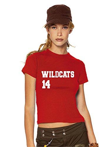 HSM 1/2/3 Wildcats 14 Girlie / women's T-Shirt, Fanshirt, M
