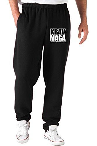 Speed Shirt Pantalones Deportivos Negro T0643C Krav