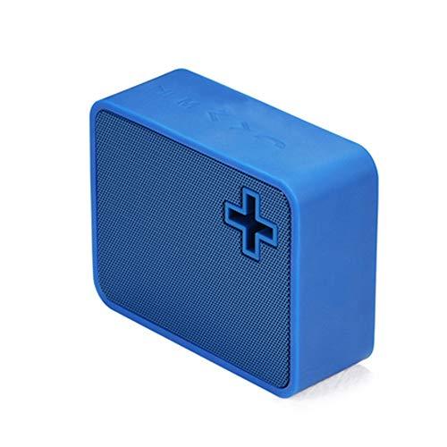 Preisvergleich Produktbild Drahtloser Bluetooth-Lautsprecher für den Außenbereich 8 Stunden Spielzeit Subwoofer-Audioplayer (Farbe : B Blue)