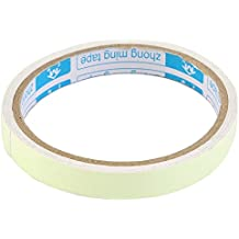 Shot -- en cinta luminoso fluorescente noche Etapa seguridad adhesivo adhesivo resplandor en la oscuridad, Verde, 1.5*100cm