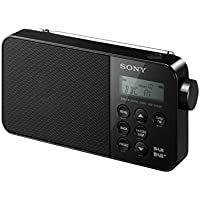 Sony XDRS40 DAB/DAB+/FM Ultra Compact Digital Radio - Black
