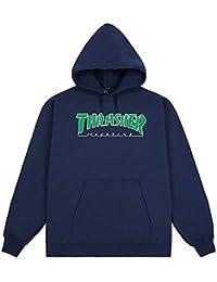 Amazon Felpe Felpe it Abbigliamento Cappuccio Thrasher Con BrFgBq