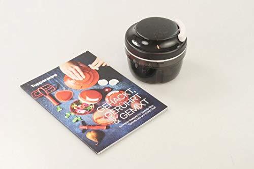Tupperware 33764 Speedy Boy+ - Tagliacipolle Chef Turbo-Chef, Colore: Nero