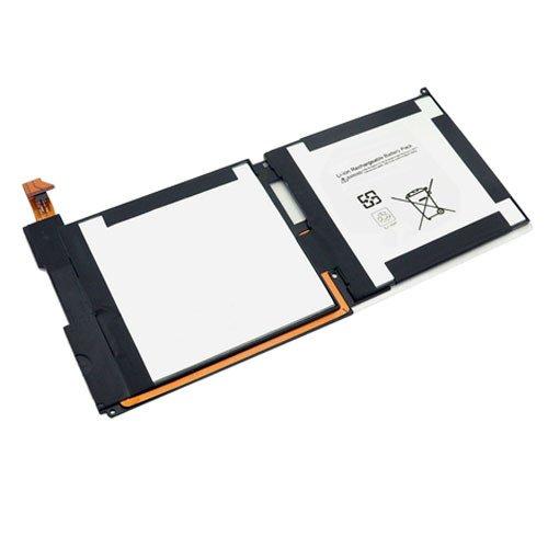 amsahr MSISURFACERT-02 Ersatz Batterie für Microsoft Surface RT/Windows 1516, 21CP4/106/96 schwarz