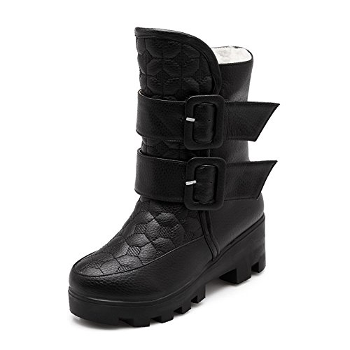 adeesu-womens-ring-velcro-solid-kitten-heels-black-imitated-leather-boots-25-uk