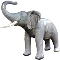Jet Creations Lifelike Life Size Inflatable Replica Elephant by Jet Creations