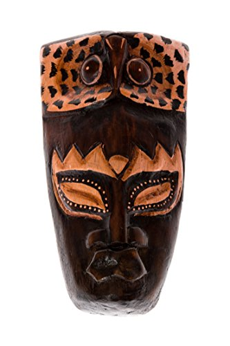 Maschera decorativa da parete, motivo: viso in