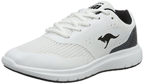 KangaROOS Damen Start One W Sneakers Weiß (white/black 005)