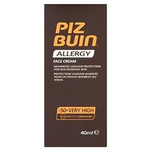Piz Buin Allergy Face Cream SPF 50, 40ml