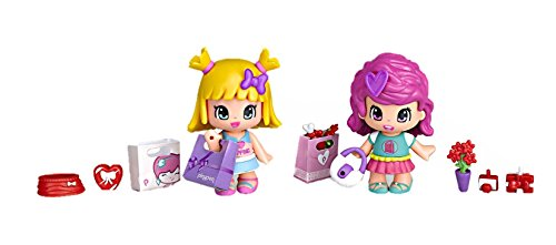 Pinypon - Pack figuras amigos de compras (Famosa 700012735)
