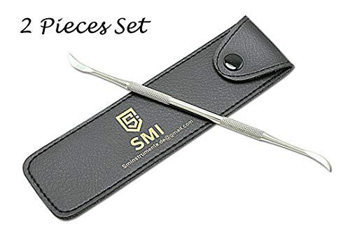 SMI - 17cm Cortadora cutículas profesional empujadores