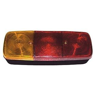Bajato Rücklicht Lampe Set 2 Stück für LKW Zugmaschine Anhänger Auto mit Birne 12 V