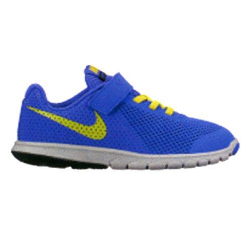 Calzature sportive bambino, colore Blu , marca NIKE, modello Calzature Sportive Bambino NIKE FLEX EXPERIENCE 5 Blu Azzuro-Giallo