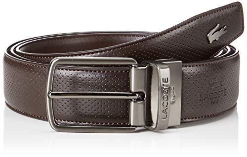 Lacoste Rc1620 Cinturón, Marrón Brown Hj5, 110 para Hombre