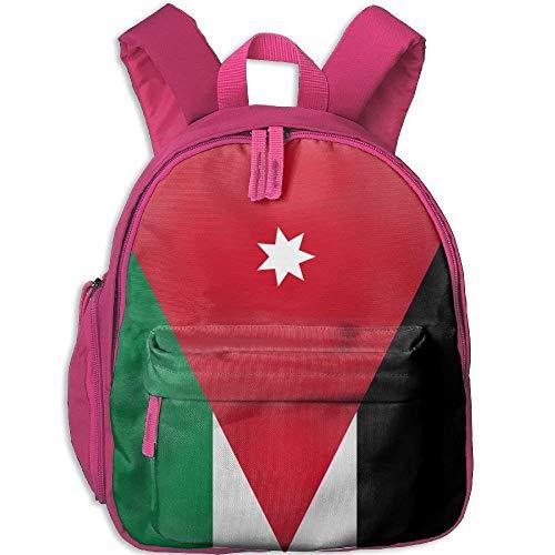 Funny Schoolbag Backpack Flag of Jordan Kid and Toddler Student Backpack School Bag Super Bookbag